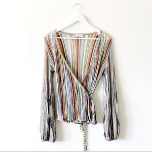 Missoni Wrap Knit Blouse